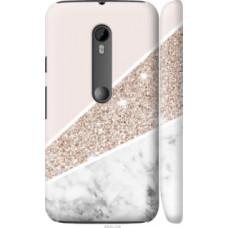 Чехол на Motorola Moto G3 Пастельный мрамор (4342c-318)