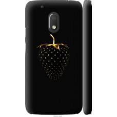 Чехол на Motorola Moto G4 Play Черная клубника (3585c-860)