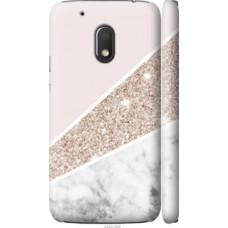 Чехол на Motorola Moto G4 Play Пастельный мрамор (4342c-860)