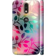 Чехол на Motorola MOTO G4 PLUS Листья (2235c-953)