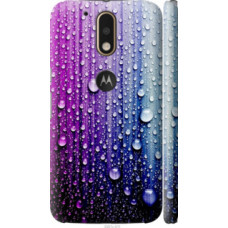 Чехол на Motorola MOTO G4 PLUS Капли воды (3351c-953)