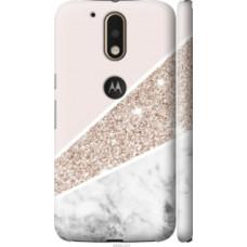 Чехол на Motorola MOTO G4 PLUS Пастельный мрамор (4342c-953)
