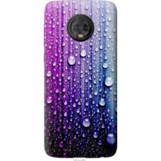 Чехол на Motorola Moto G6 Капли воды (3351u-982)