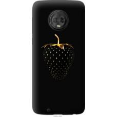 Чехол на Motorola Moto G6 Черная клубника (3585u-982)