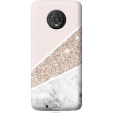 Чехол на Motorola Moto G6 Пастельный мрамор (4342u-982)