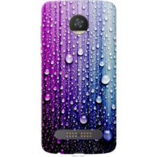 Чехол на Motorola Moto Z2 Play Капли воды (3351u-1001)