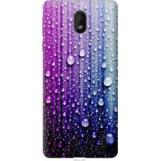 Чехол на Nokia 1 Plus Капли воды (3351u-1677)