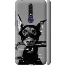 Чехол на Nokia 3.1 Plus Доберман (2745c-1607)