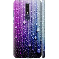 Чехол на Nokia 3.1 Plus Капли воды (3351c-1607)