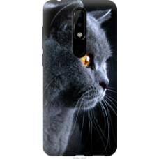 Чехол на Nokia 5.1 Plus Красивый кот (3038u-1543)