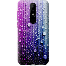 Чехол на Nokia 5.1 Plus Капли воды (3351u-1543)