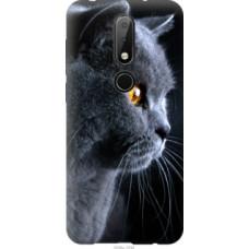 Чехол на Nokia 6.1 Plus Красивый кот (3038u-1539)