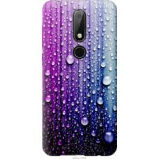 Чехол на Nokia 6.1 Plus Капли воды (3351u-1539)