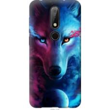 Чехол на Nokia 6.1 Plus Арт-волк (3999u-1539)