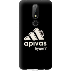 Чехол на Nokia 6.1 Plus А пивас (4571u-1539)