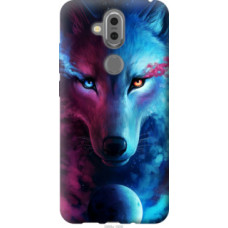 Чехол на Nokia 7.1 Plus Арт-волк (3999u-1606)