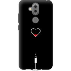 Чехол на Nokia 7.1 Plus Подзарядка сердца (4274u-1606)