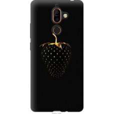 Чехол на Nokia 7 Plus Черная клубника (3585u-1354)