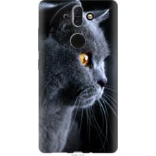 Чехол на Nokia 8 Sirocco Красивый кот (3038u-1619)