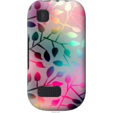 Чехол на Nokia Asha 200 Листья (2235u-247)