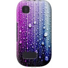 Чехол на Nokia Asha 200 Капли воды (3351u-247)
