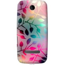 Чехол на Nokia Asha 305 / 306 Листья (2235u-248)