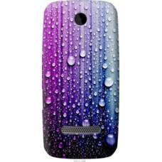 Чехол на Nokia Asha 305 / 306 Капли воды (3351u-248)