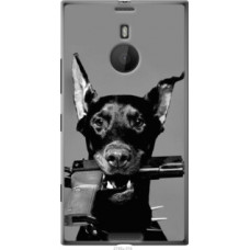 Чехол на Nokia Lumia 1520 Доберман (2745u-314)