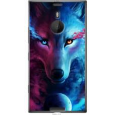 Чехол на Nokia Lumia 1520 Арт-волк (3999u-314)