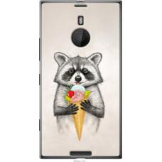 Чехол на Nokia Lumia 1520 Енотик с мороженым (4602u-314)