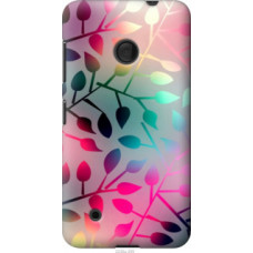 Чехол на Nokia Lumia 530 Листья (2235u-205)