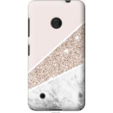Чехол на Nokia Lumia 530 Пастельный мрамор (4342u-205)