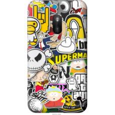 Чехол на Nokia Lumia 620 Popular logos (4023u-249)