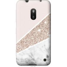 Чехол на Nokia Lumia 620 Пастельный мрамор (4342u-249)
