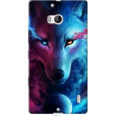 Чехол на Nokia Lumia 930 Арт-волк (3999u-311)