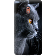 Чехол на Nokia 2.1 Красивый кот (3038u-1532)
