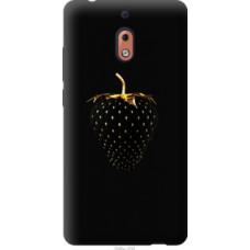 Чехол на Nokia 2.1 Черная клубника (3585u-1532)