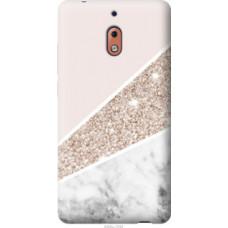 Чехол на Nokia 2.1 Пастельный мрамор (4342u-1532)