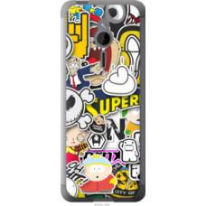 Чехол на Nokia 230 Popular logos (4023u-339)