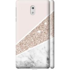 Чехол на Nokia 3 Пастельный мрамор (4342c-818)