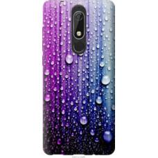 Чехол на Nokia 5.1 Капли воды (3351u-1529)