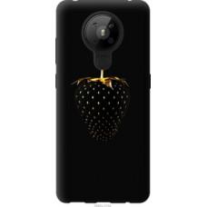 Чехол на Nokia 5.3 Черная клубника (3585u-2102)