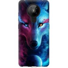 Чехол на Nokia 5.3 Арт-волк (3999u-2102)