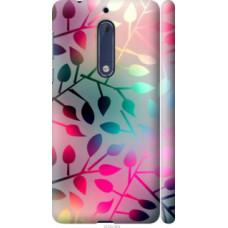 Чехол на Nokia 5 Листья (2235c-804)