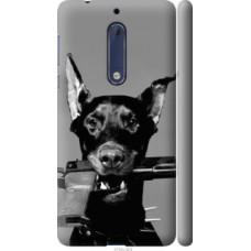 Чехол на Nokia 5 Доберман (2745c-804)