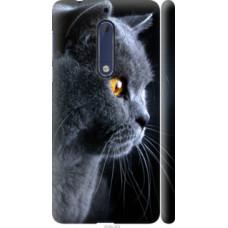 Чехол на Nokia 5 Красивый кот (3038c-804)