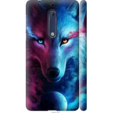 Чехол на Nokia 5 Арт-волк (3999c-804)