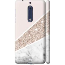 Чехол на Nokia 5 Пастельный мрамор (4342c-804)
