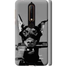 Чехол на Nokia 6.1 Доберман (2745c-1628)