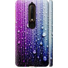 Чехол на Nokia 6.1 Капли воды (3351c-1628)